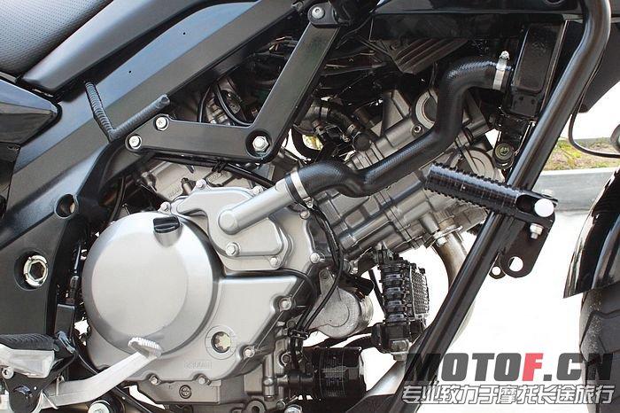 09年铃木长途拉力越野摩托车DL650带两箱高清图片